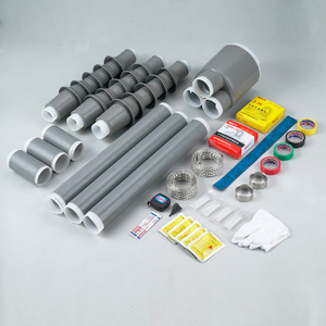 24KV COLD SHRINKABLE TERMINATION KIT AND STRAIGHT THROUGH JOINT