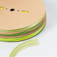 YELLOW GREEN HEAT SHRINKABLE TUBING SYG 2X