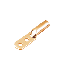 Copper Crimp Lug-2 Holes